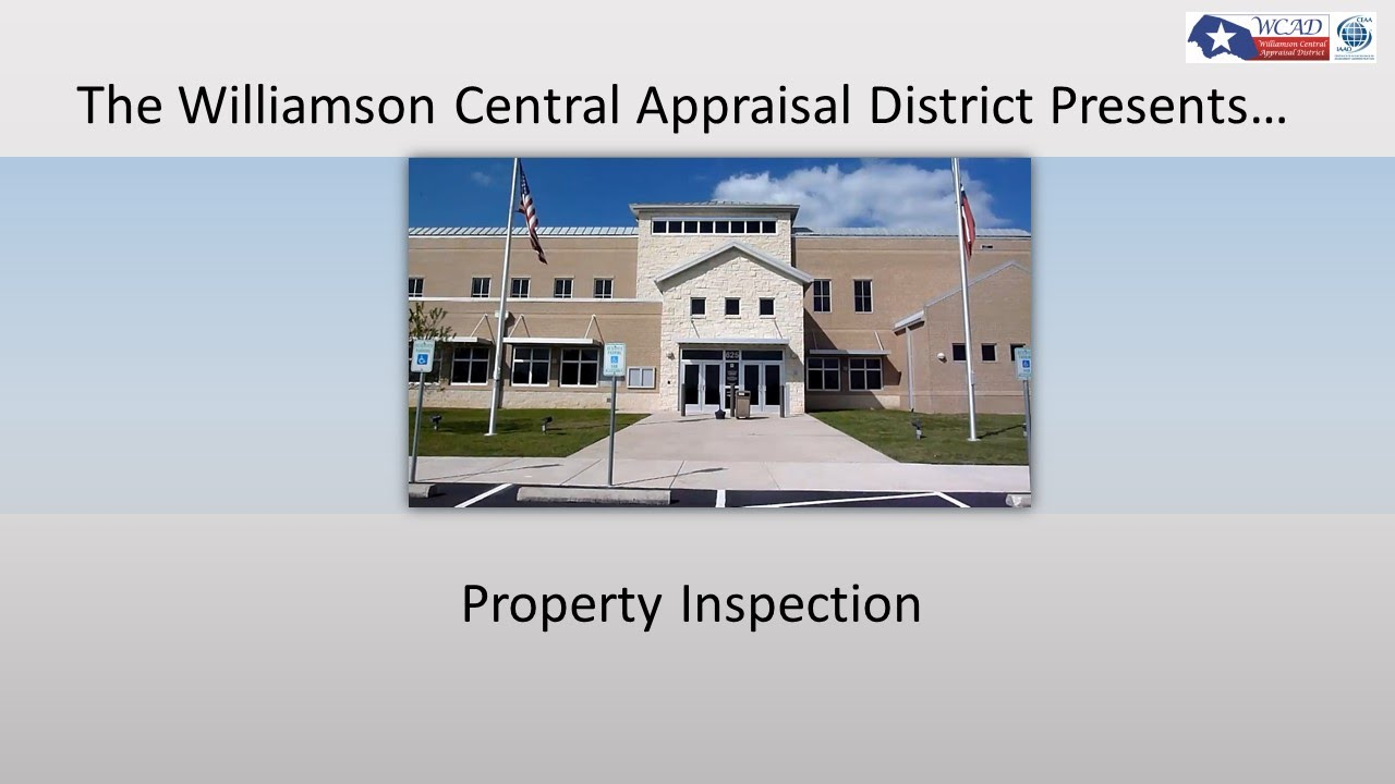 appraisal county property search williamson