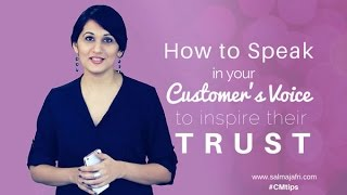 How To Speak in your Customer's Voice - Build a Buyer Persona
