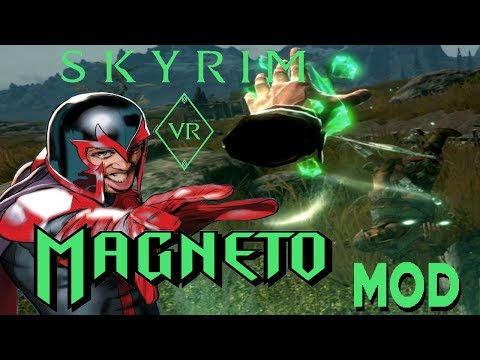 I am Magneto - Skyrim VR OP Spell Mod