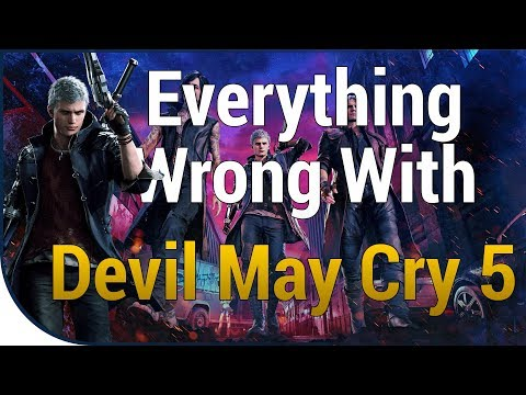 GAME SINS | Everything Wrong With Devil May Cry 5 thumbnail