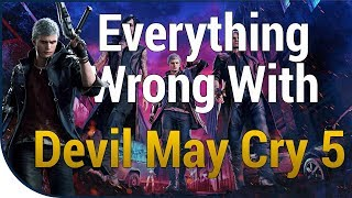 GAME SINS | Everything Wrong With Devil May Cry 5