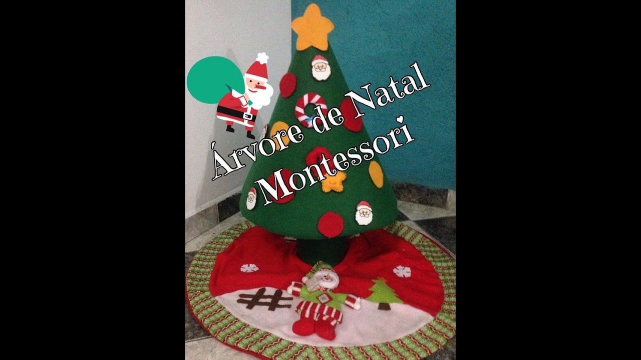 diy rvore de natal montessori para beb s youtube. Black Bedroom Furniture Sets. Home Design Ideas