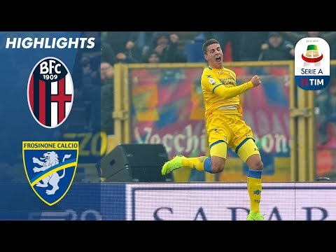 Bologna 0-4 Frosinone | Frosinone Win Important 3 Points | Serie A