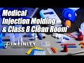 Medical Grade Plastic Injection Miolder- Large clean room - Infinity Medical Molding