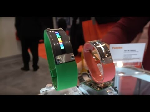 Flexible Plastic OLED Displays by Futuba | IDTechEx Show! USA 2016