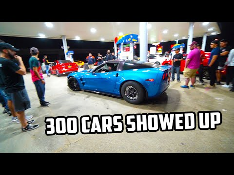 Street Racers SHUT DOWN Houston Gas Station at TX2K 2020!!