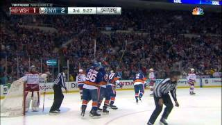Gotta See It: Tavares takes Ovechkin hit, sets up Kulemin goal