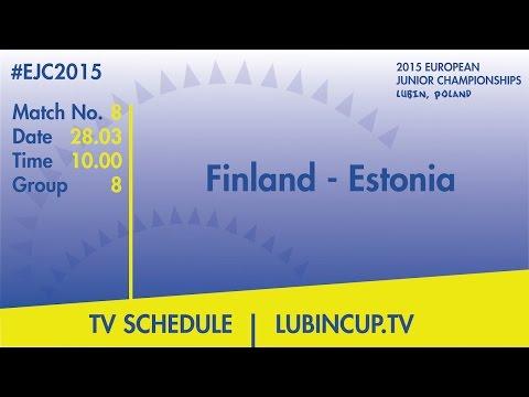 Finland - Estonia #EJC2015 Lubin, Poland
