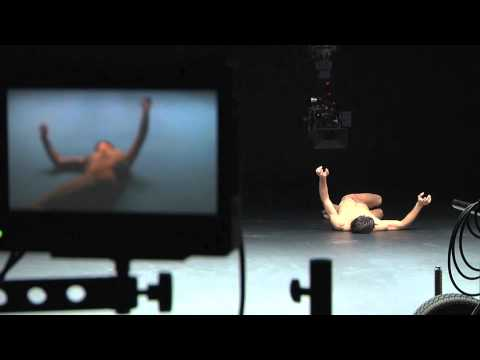 ENI advertising campaign - Roberto Bolle making of