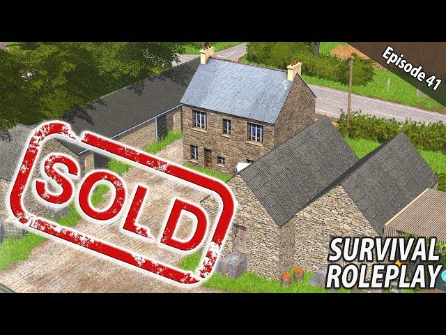 PETER'S FARM SELLS FOR £1,300,000!!! | Survival Roleplay | Episode 41