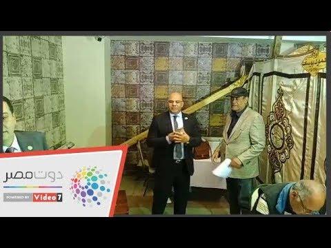 أحمد بدير وهانى رمزى يشاركون فى انتخابات المهن التمثيلية  - 15:54-2019 / 3 / 22