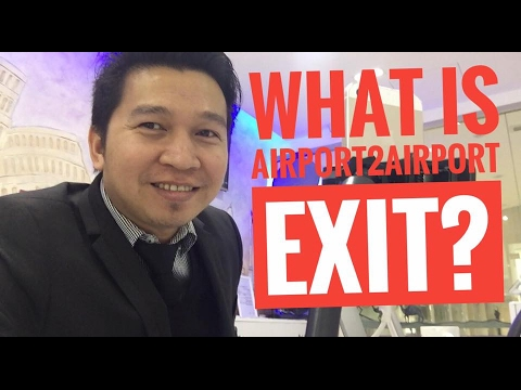 WHAT IS AIRPORT TO AIRPORT EXIT? (via FB Live!)