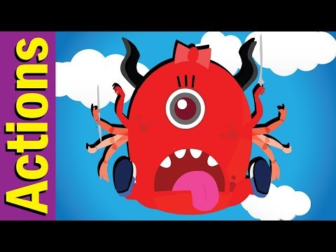 Yes, I Can!   Actions Song for Children   Action Verbs   Kindergarten, ESL & EFL   Fun Kids English