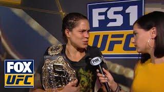 Amanda Nunes talks to Megan Olivi | INTERVIEW | UFC 224