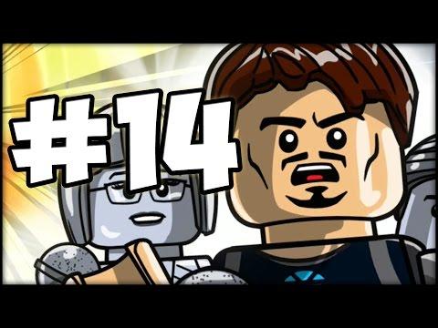 LEGO MARVEL'S AVENGERS - Part 14 - Iron Man 3 Level!