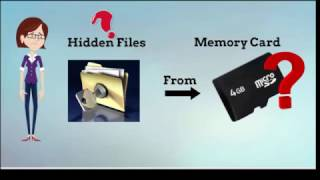 Tips To Recover Hidden Media Files In Memory Card