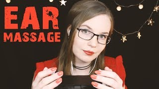 ASMR Ear Massage - SWEETEST Varied Ear Rubbing, Breathing, Cupping, Lotion, NO TALKING 🧡