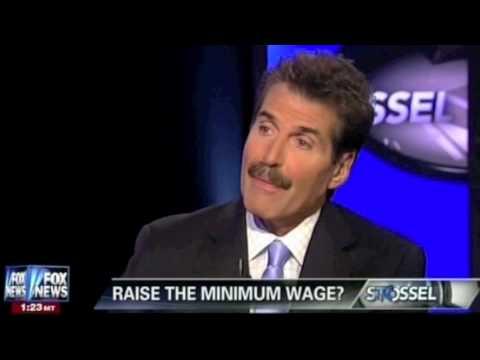 John Stossel - Real World Effects Of Minimum Wage
