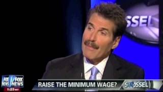 John Stossel - Real World Effects Of Minimum Wage