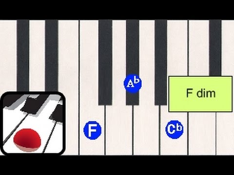 Chords Aug Dim Lesson 7 The Piano Chord Book Youtube