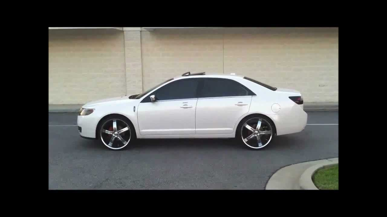 2011 Lincoln Mkz On 22 Rims Youtube