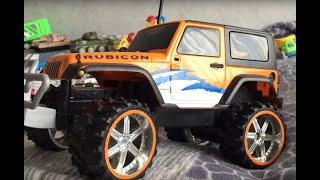 Класний позашляховик Р/У та інші іграшки! Cool off-road car radio-controlled and other toys!