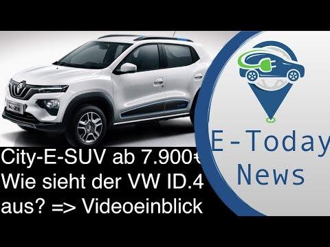 China Elektro-City SUV Von Renault Für 7.900€ I VW ID.4 Wie Sieht Er Aus? 1. Videoeindrücke