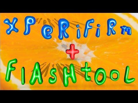 Создание прошивки для Flashtool из файлов XperiFirm.