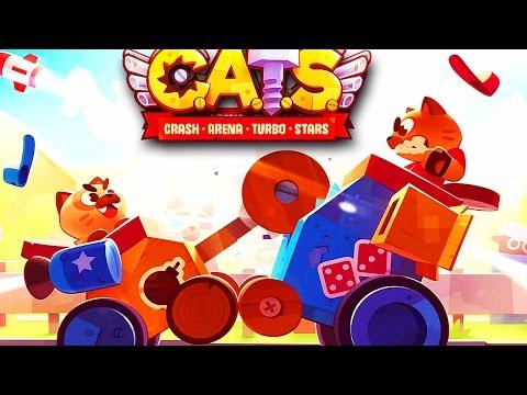 CATS 'CRASH ARENA TURBO STARS'= AGORA A COISA FICOU SERIA (GAMEPLAY PT/BR)