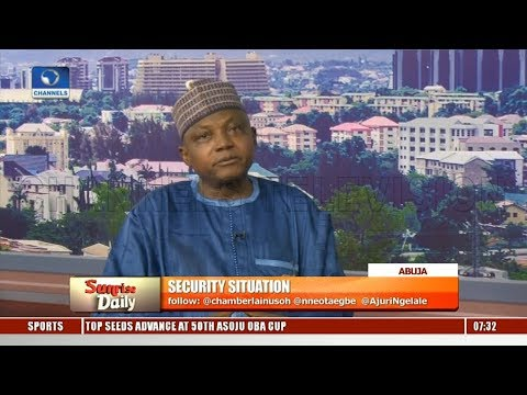 Garba Reveals Nigeria Facing Threat From Foreign Forces, Alerts On Stream Of Weapons |Sunrise Daily|