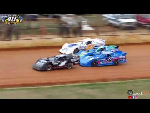 Crate Late Models @ 411 Motor Speedway (12-30-17)