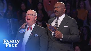 It's COMEBACK TIME for John! | Family Feud