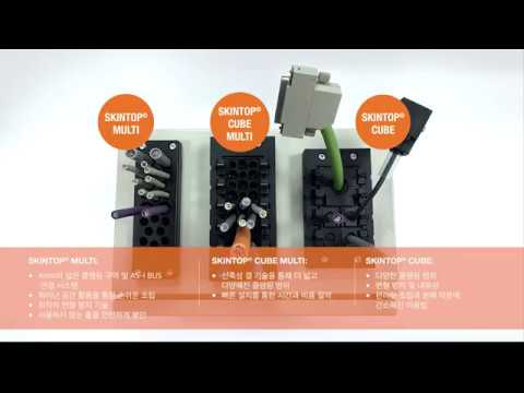 SKINTOP® CABLE ENTRY SYSTEM 제품 소개 LAPP GROUP KOREA