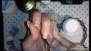 4 способа укрепления ногтей с выравниванием.