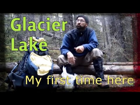 Overnight solo backpack trip to Glacier Lake - Banff Park - Rocky Mountains
