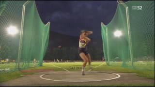 Sandra Perkovic Discus Throw: 71.41 meters