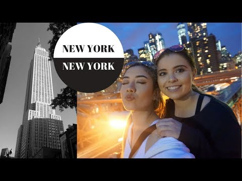 NEW YORK VLOG 2017: Empire State Building, Central Park, Brooklyn Bridge || Hayley Adams