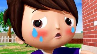 Boo Boo Song - ACCIDENTS Happen | Nursery Rhymes & Kids Songs! | Cartoons For Kids | Shark Songs
