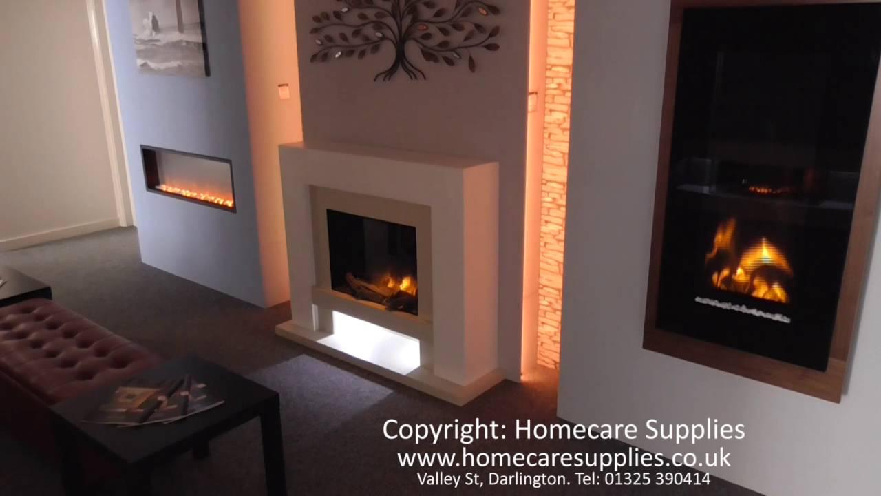 homecare electric fireplaces showroom refurbishment aug 2016 youtube