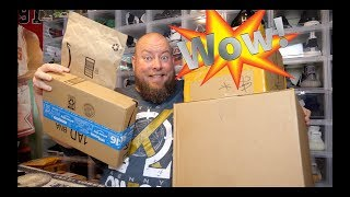 Massive Haul of Packages from Amazon Prime Day & Hot Topic HOT CASH Deals