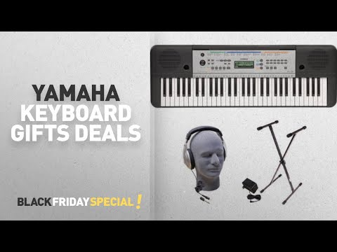Walmart Top Black Friday Yamaha Keyboard Gifts Deals: Yamaha YPT-255 61-Key Keyboard Pack with