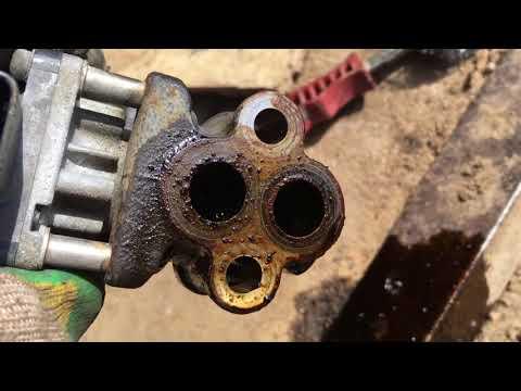 Клапан ЕГР Subaru как почистить.