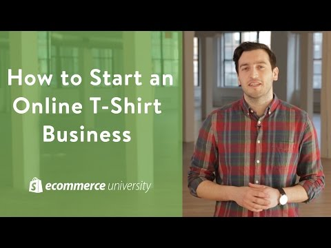 Small Business Ideas: How to Start an Online T-Shirt Busines