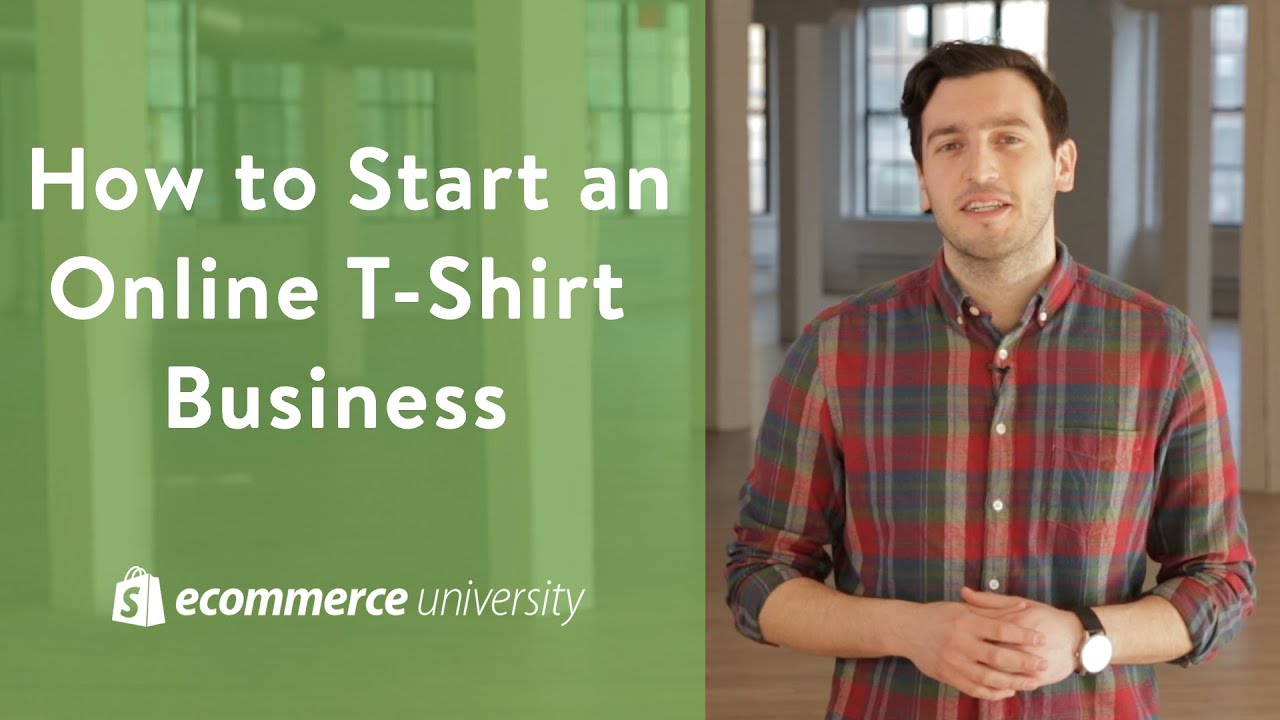 Small Business Ideas How To Start An Online T Shirt Business Youtube