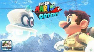 Super Mario Odyssey - Exploring the Wooded Kingdom for Flowers (Nintendo Switch Gameplay)