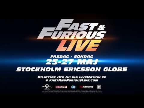Fast & Furious - 2018 - Stockholm, Ericsson Globe