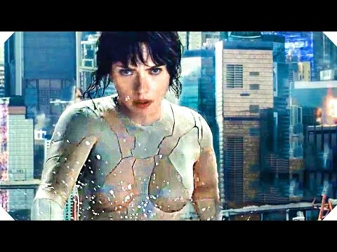 GHOST IN THE SHELL (Scarlett Johansson - Science Fiction, 2017) -  NOUVELLE Bande Annonce Teaser streaming vf