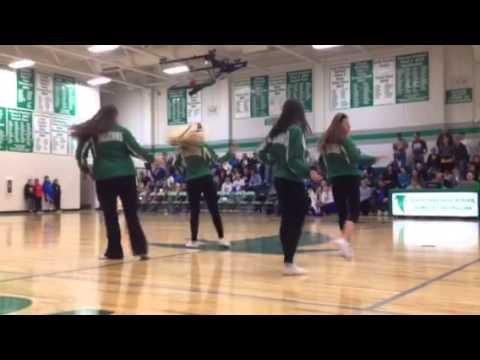 Blair Oaks High School Dance Team 14-15