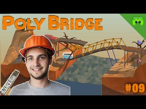 POLY BRIDGE # 9 - Ausflug an die See - FULL HD 60 FPS - 동영상