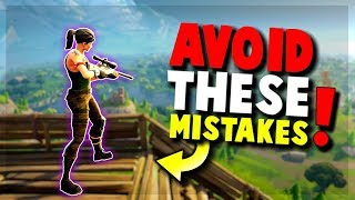 9 Common Mistakes New Players Make - FORTNITE Battle Royale | Tips and Tricks